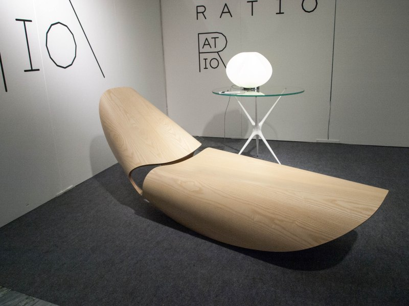 Bent wood lounger