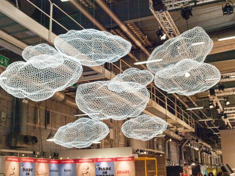 Cloud chandeliers