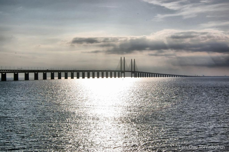 Øresund Bridge, image by Lars Ove Törnebohm
