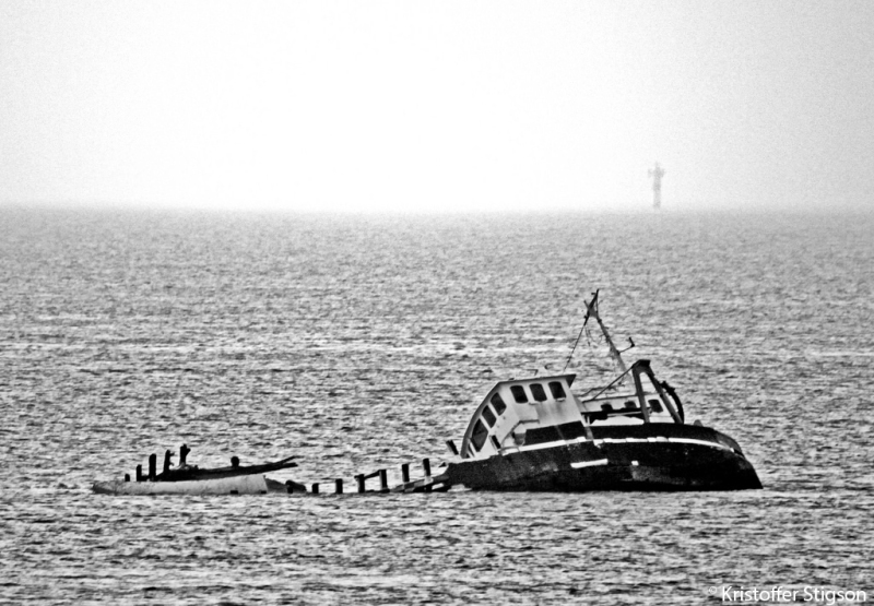 Oresund ship by Kristoffer Stigson